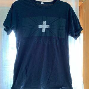 Ed Sheeran 2013 tour t shirt